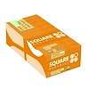 Square Organics, Organic Protein Bar, Chocolate Coated Peanut Butter, 12 Bars, 1.7 oz (48 g) Each