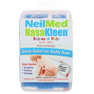 Назалин Скуип, Neilmed NasaKleen Babies & Kids Nasal-Oral Aspirator, 1 Kit отзывы покупателей