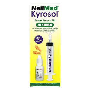 Назалин Скуип, NeilMed Kyrosol, Earwax Removal Aid, 5 Piece Kit отзывы покупателей