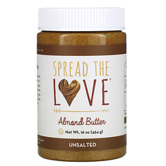 Spread The Love, 扁桃油,無鹽,16 盎司(454 克)