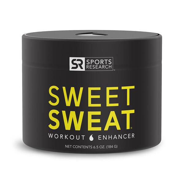 Sweet Sweat Workout Enhancer, 6.5 oz (184 g)
