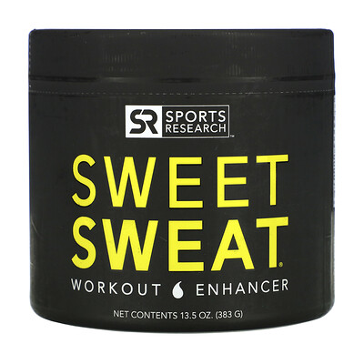 Sports Research Sweet Sweat, Усилитель Эффективности Тренировок, 13,5 унций (383 г)