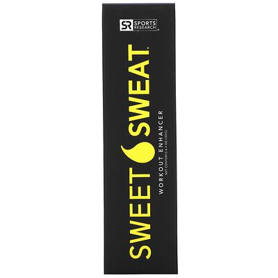 Sports Research Sweet Sweat Stick, усиливающий гель для тренировок, 182г (6,4унции)