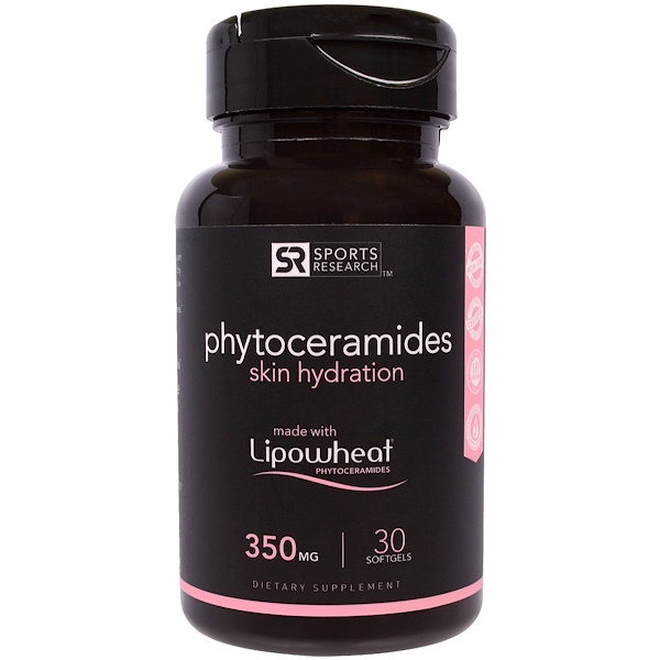 Sports Research, Phytoceramides Lipowheat® 350mg (30 softgels)