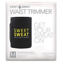 Sports Research, Sweet Sweat 束腰帶,中號,黑色&黃色,1 條