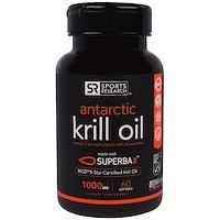 Жир антарктического криля, 1000 мг, 60 мягких желатиновых капсул с жидкостью - фото