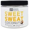 """Sports Research, """"Sweet Sweat"""", предтренировочный комплекс с кокосовым вкусом, 13,5 унций (383 г)"""