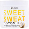 Sports Research, Sweet Sweat Potencializador de Treino, Coco, 13,5 oz (383 g)