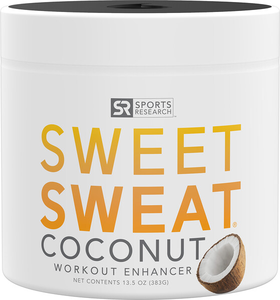 Sweet Sweat Workout Enhancer, Coconut , 13.5 oz (383 g)
