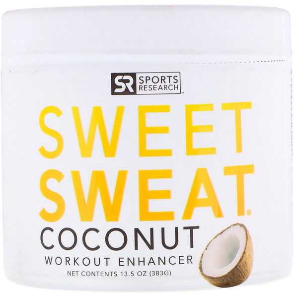Sweet Sweat Workout Enhancer, Coconut , 13.5 oz (383 g)