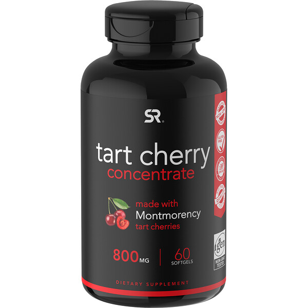 Sports Research, Tart Cherry Concentrate, 800 mg, 60 Softgels