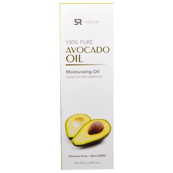 Sports Research, 100% Pure Avocado Oil, 16 fl oz (473 ml)