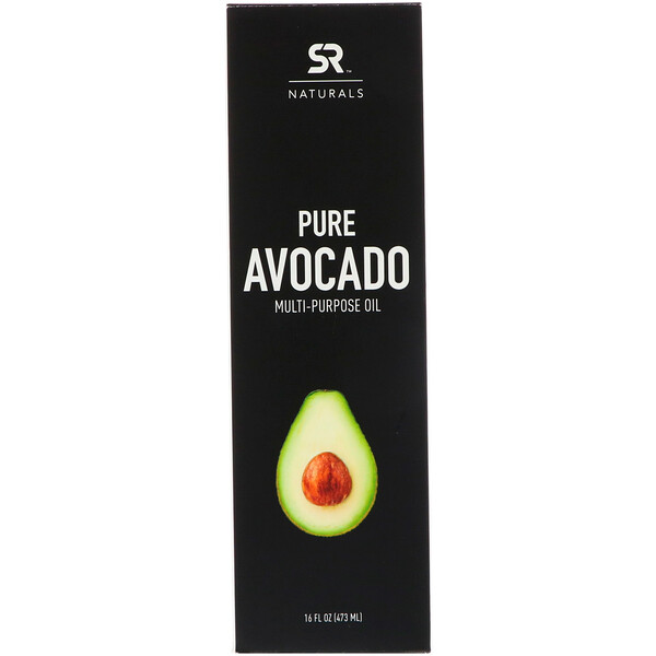 Sports Research, Pure Avocado Multi-Purpose Oil, 16 fl oz (473 ml)