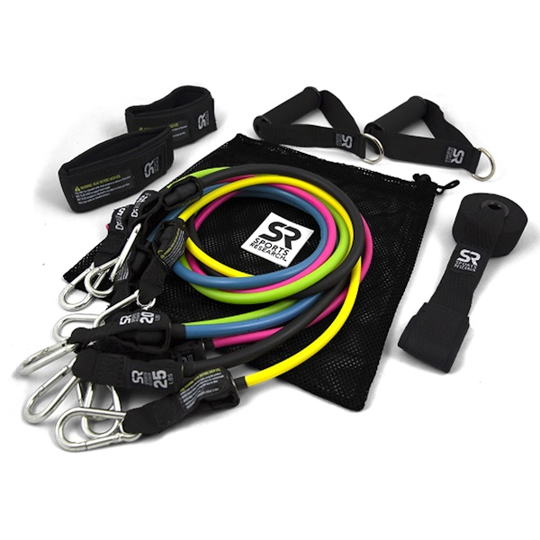 Sports Research, Performance Resistance Bands, 5 Bands (Discontinued Item)