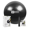 Sports Research, Performance Stability Ball, Black, 1 - 65cm Ball