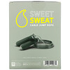 Sports Research, Sweet Sweat Cable Jump Rope, Black, 10 ft, 1 Jump Rope