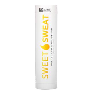 Sports Research, Sweet Sweat Workout Enchancer ، جوز الهند ، 6.4 أوقية (182 جم)