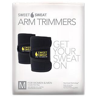 Sports Research, Dulce Sudor, Trimmers de compresión para brazos, unisex-normal, amarillos, 1 par
