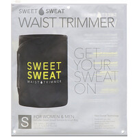 Sweet Sweat Waist Trimmer, Small, Black & Yellow, 1 Belt - фото