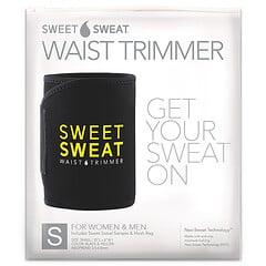 Sports Research, Sweet Sweat 瘦腰燃脂暴汗腰帶,小號,黑黃色,1 件