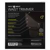 Sports Research, Sweet Sweat Waist Trimmer, Small, Black & Yellow, 1 Belt