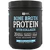 Sports Research, Proteína de caldo de osso com colágeno, sabor baunilha, 17,7 oz (502 g)