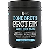 Sports Research, بروتين حساء العظان مع الكولاجين، نكهة الفانيلا، 17.7 أونصة (502 جم)