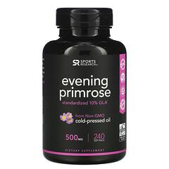 Sports Research, Evening Primrose, 500 mg, 240 Softgels