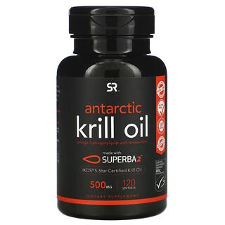 Sports Research, SUPERBA 2 南極磷蝦油和蝦青素,500 毫克,120 粒軟凝膠