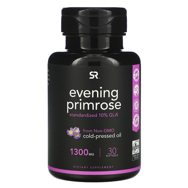 Evening Primrose, 1,300 mg, 30 Softgels