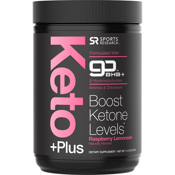 Keto Plus, GO BHB +, Raspberry Lemonade, 11.2 oz (318 g)