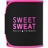 Sports Research, Cinta Modeladora de Cintura Sweet Sweat, Grande, Preta e Rosa, 1 Cinta