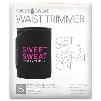 Купить Sports Research Sweet Sweat, пояс для похудения, маленький, черный и розовый, 1шт.