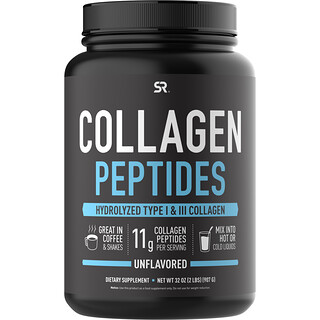 Sports Research, Collagen Peptides, Unflavored, 32 oz (907 g)