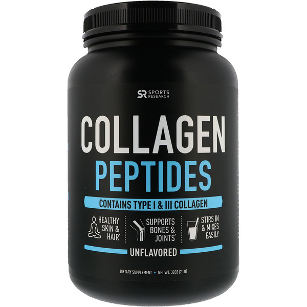 Collagen Peptides, Unflavored, 2 lbs (32 oz)