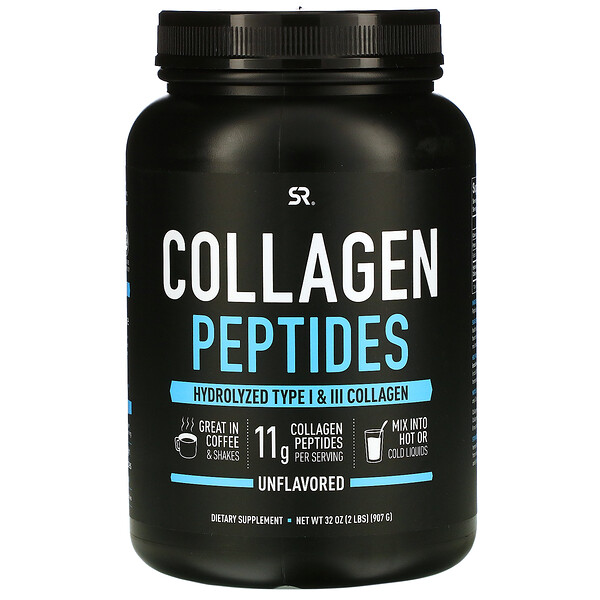 Collagen Peptides, Unflavored, 32 oz (907 g)