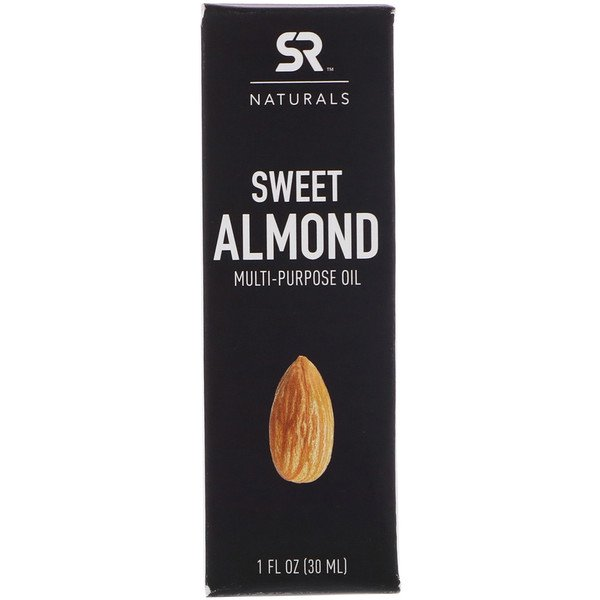Sports Research, Sweet Almond Multi-Purpose Oil , 1 fl oz (30 ml) (Discontinued Item)
