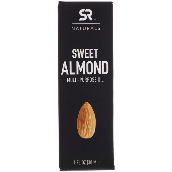 Sports Research, Sweet Almond Multi-Purpose Oil, 1 fl oz (30 ml) (Discontinued Item)