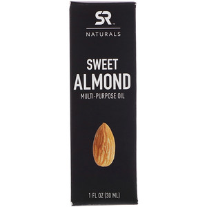 Спортс Ресерч, Sweet Almond Multi-Purpose Oil, 1 fl oz (30 ml) отзывы