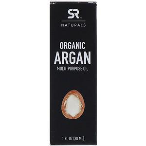 Спортс Ресерч, Organic Argan Multi-Purpose Oil, 1 fl oz (30 ml) отзывы