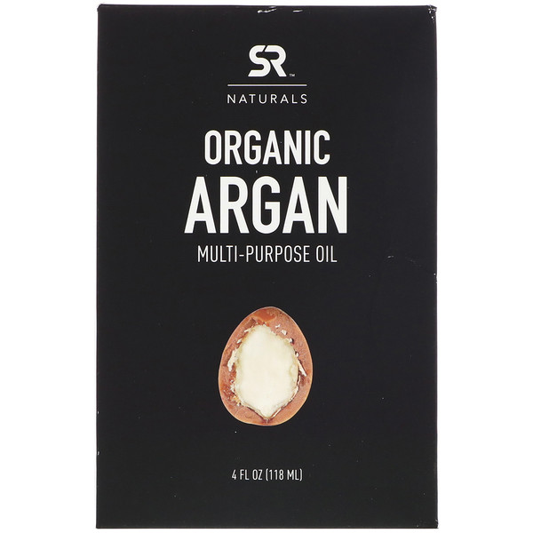 Sports Research, Organic Argan Mutli-Purpose Oil, 4 fl oz (118 ml)