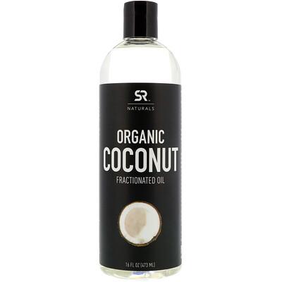 Купить Sports Research Органическое фракционированное кокосовое масло, 16 ж. унц. (473 мл)