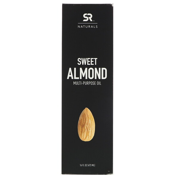 Sports Research, Sweet Almond Multi-Purpose Oil, 16 fl oz (473 ml)