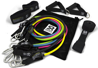Sports Research, Performance Resistance Bands, 5 Bands