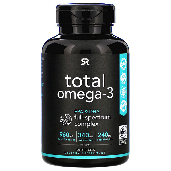 Total Omega-3, 120 Softgels