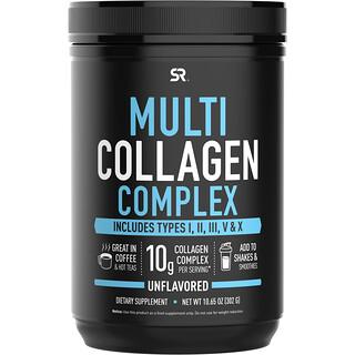 Sports Research, Multi Collagen Complex, Unflavored, 10.65 oz (302 g)