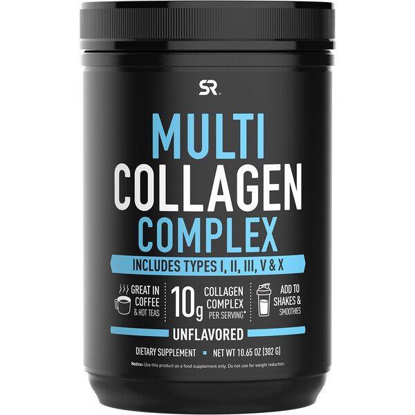 Multi Collagen Complex, Unflavored, 10.65 oz (302 g)