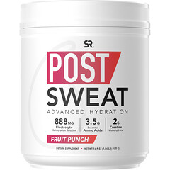Sports Research, Post-Sweat Advanced Hydration,水果潘趣酒,16.9 盎司(480 克)