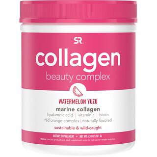 Sports Research, комплекс Collagen Beauty, морской коллаген, арбуз и юзу, 181г (6,38 унций)