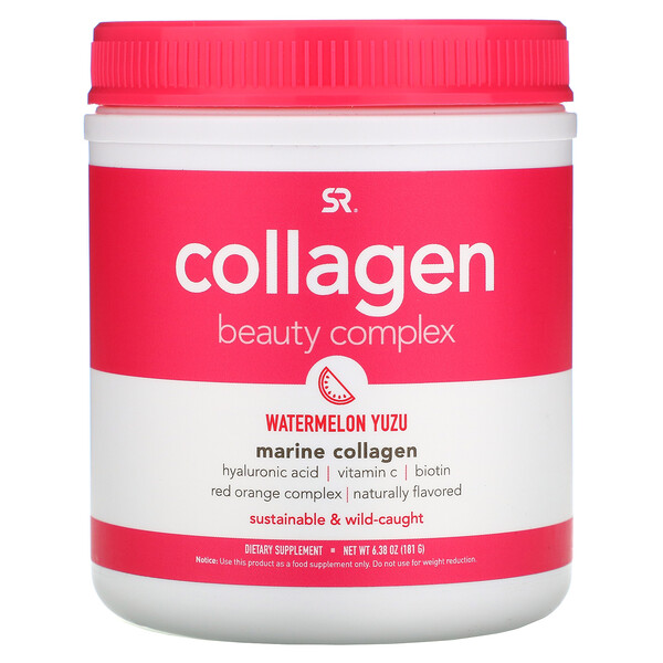Collagen Beauty Complex, Marine Collagen, Watermelon Yuzu, 6.38 oz (181 g)